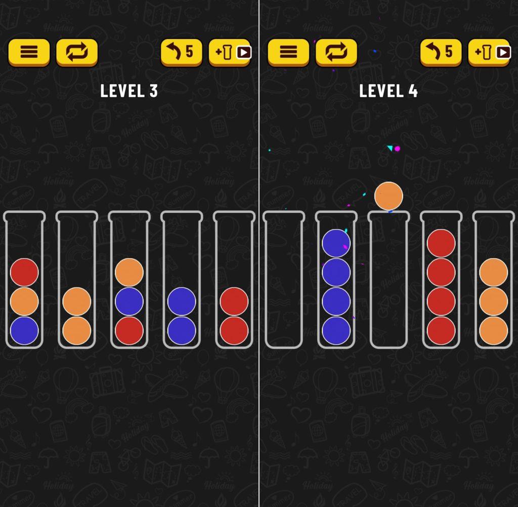 コツ パズル ボール ソート ボールソートパズルのルール&攻略のコツ|色揃えゲームで脳トレに挑戦!